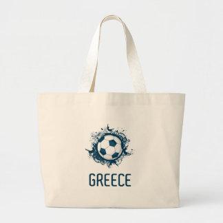 Greece Football Jumbo Tote Bag