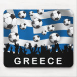 Greece Football Mousepads