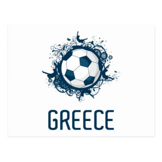 Greece Football Postcard
