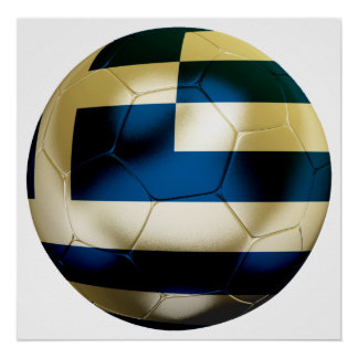 Greece Football Poster
