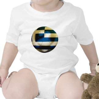 Greece Football Romper
