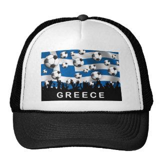 Greece Football Trucker Hat