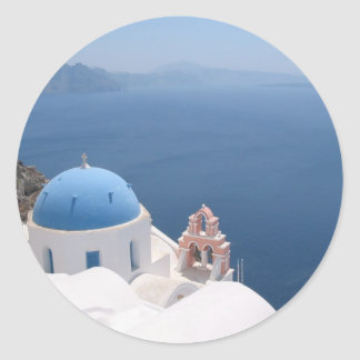 Greece Forever Classic Round Sticker
