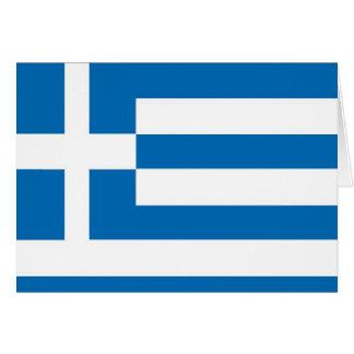 Greece Greek flag Cards