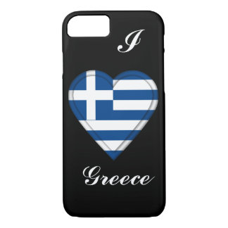 Greece Greek flag iPhone 8/7 Case