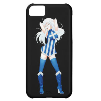 Greece Greek Manga Flag girl iPhone 5C Case