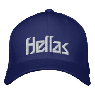 Greece - Hellas Embroidered Hat