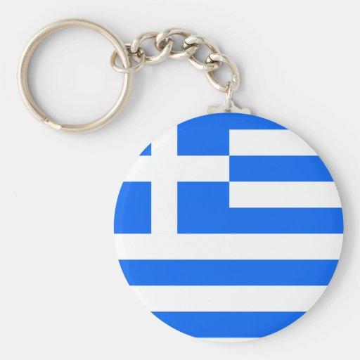 Greece High quality Flag Key Chain