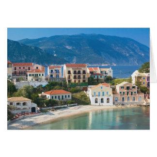 GREECE, Ionian Islands, KEFALONIA, Assos: 2 Card