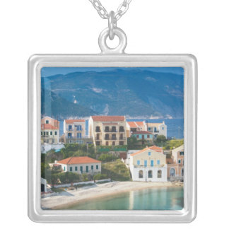 GREECE, Ionian Islands, KEFALONIA, Assos: 2 Silver Plated Necklace