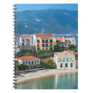 GREECE, Ionian Islands, KEFALONIA, Assos: 2 Spiral Notebook