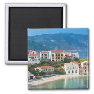 GREECE, Ionian Islands, KEFALONIA, Assos: 2 Square Magnet