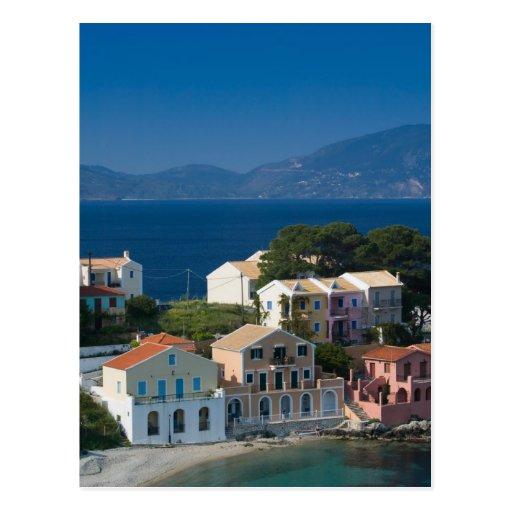 GREECE, Ionian Islands, KEFALONIA, Assos: Post Card