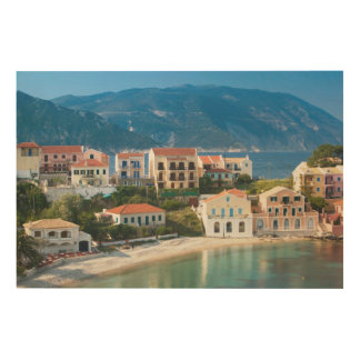 GREECE, Ionian Islands, KEFALONIA, Assos Wood Wall Decor