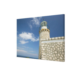 GREECE, Ionian Islands, ZAKYNTHOS, CAPE SKINARI: Canvas Print