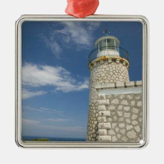 GREECE, Ionian Islands, ZAKYNTHOS, CAPE SKINARI: Silver-Colored Square Decoration