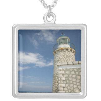 GREECE, Ionian Islands, ZAKYNTHOS, CAPE SKINARI: Silver Plated Necklace