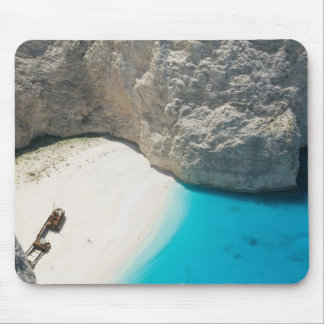 GREECE, Ionian Islands, ZAKYNTHOS, SHIPWRECK Mouse Mat