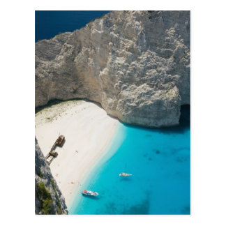 GREECE, Ionian Islands, ZAKYNTHOS, SHIPWRECK Postcard