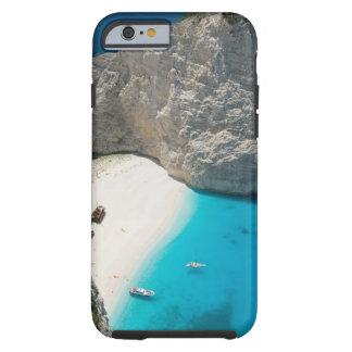 GREECE, Ionian Islands, ZAKYNTHOS, SHIPWRECK Tough iPhone 6 Case