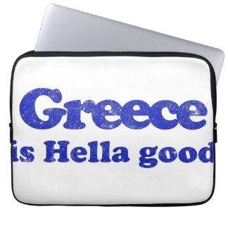 Greece is Hella Good Laptop Computer Sleeves