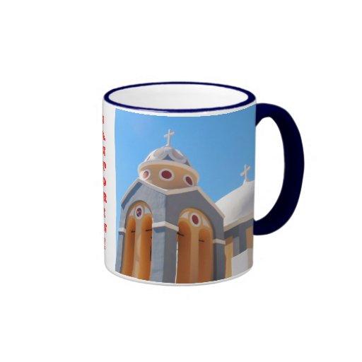 Greece Island Santorini Mug