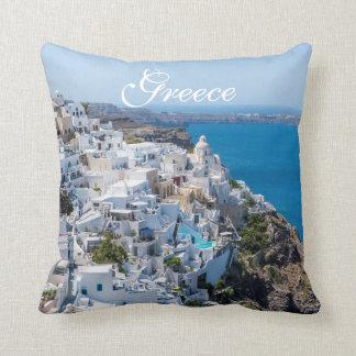 Greece Landscape Cushion