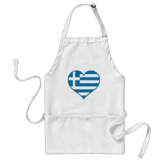 Greece Love Standard Apron