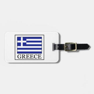 Greece Luggage Tag