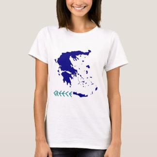 greece map.jpg T-Shirt