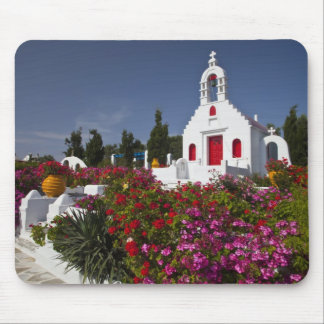 Greece, Mykonos, Cute little chapel in the Mouse Mat