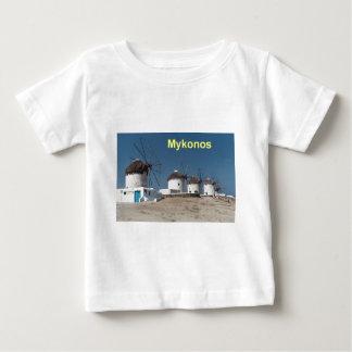 Greece Mykonos Windmills (Aggel) Baby T-Shirt