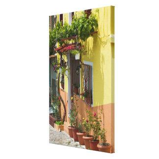 GREECE, Northeastern Aegean Islands, LESVOS Canvas Print