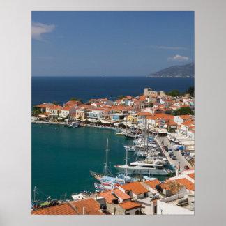 GREECE, Northeastern Aegean Islands, SAMOS, 3 Poster