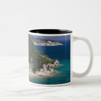 GREECE, Northeastern Aegean Islands, SAMOS, 6 Two-Tone Coffee Mug