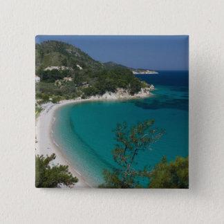 GREECE, Northeastern Aegean Islands, SAMOS, 7 15 Cm Square Badge