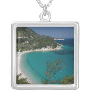 GREECE, Northeastern Aegean Islands, SAMOS, 7 Silver Plated Necklace