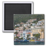 GREECE, Northeastern Aegean Islands, SAMOS, Square Magnet