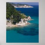 GREECE, Northeastern Aegean Islands, SAMOS, Print