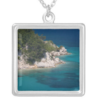 GREECE, Northeastern Aegean Islands, SAMOS, Silver Plated Necklace