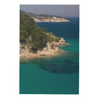 GREECE, Northeastern Aegean Islands, SAMOS Wood Wall Art