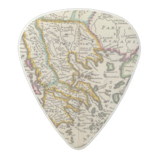 Greece or the south part of Turkey in Europe Acetal Guitar Pick