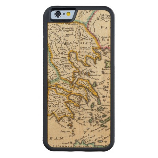 Greece or the south part of Turkey in Europe Carved® Maple iPhone 6 Bumper Case
