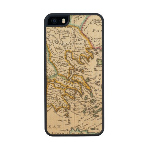 Greece or the south part of Turkey in Europe Carved® Maple iPhone 5 Case