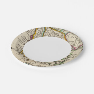 Greece or the south part of Turkey in Europe Paper Plate