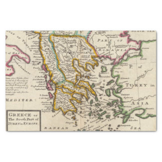 Greece or the south part of Turkey in Europe Tissue Paper
