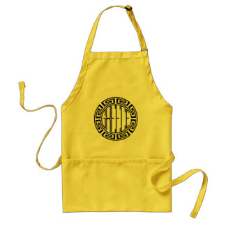 Greece - original round design standard apron