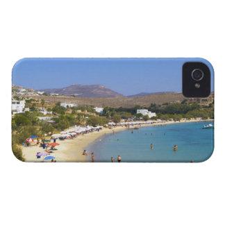 Greece, Paros Island, Krios Beach from above iPhone 4 Case