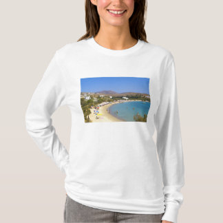 Greece, Paros Island, Krios Beach from above T-Shirt