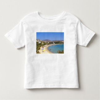 Greece, Paros Island, Krios Beach from above Toddler T-Shirt